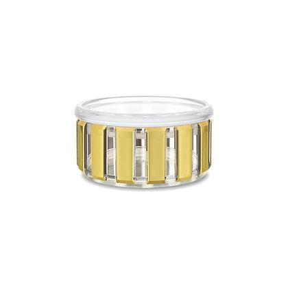 Basik Jade Trellis Storage Jar, 350 Ml