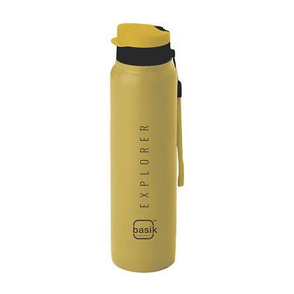 Basik Explorer Stainless Steel Single Wall Water Bottle, 1100ml