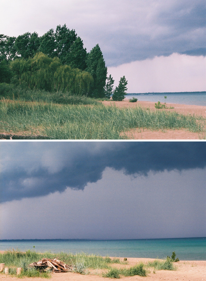 Summer Storms and Sore Face