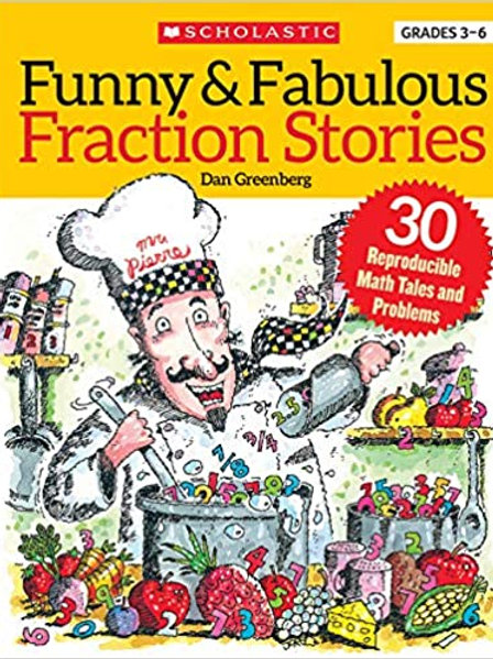 Funny & Fabulous Fraction Stories..., Dan Greenberg and Jared Lee