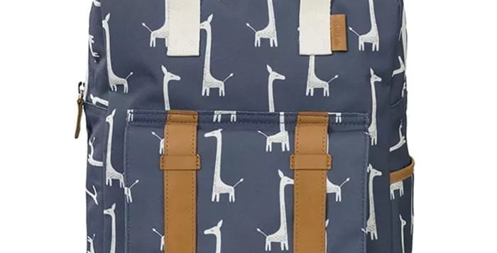 תיק גב גדול – ג'ירפות כחול