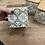 Thumbnail: סט 3 כלי אחסון, מכסה עץ