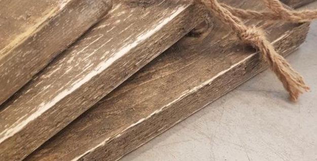 קרש הגשה מעץ ממוחזר