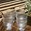 Thumbnail: כוס מים פסים נמוכה מארז של 12 כוסות