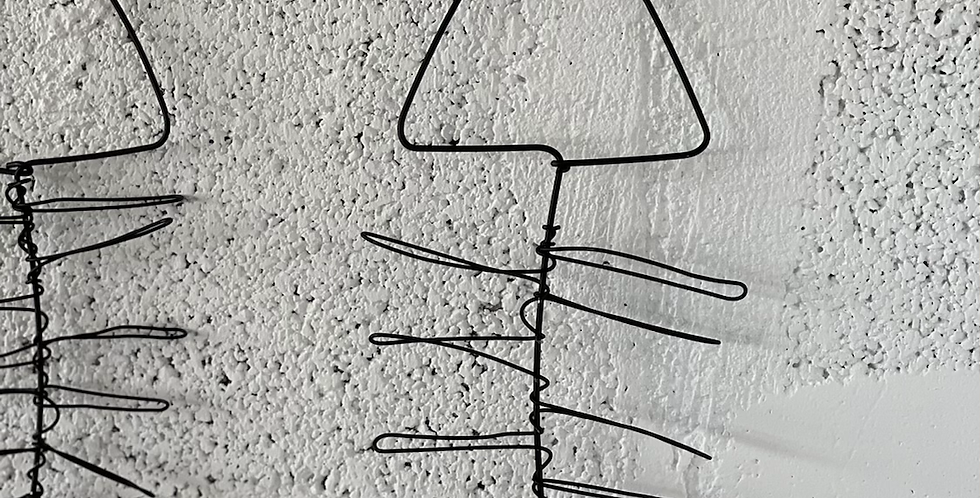 שלד דג מחוטי ברזל
