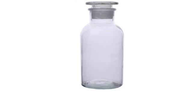 בקבוק תרופה שקוף