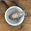 Thumbnail: מכתש ועלי stone לבן