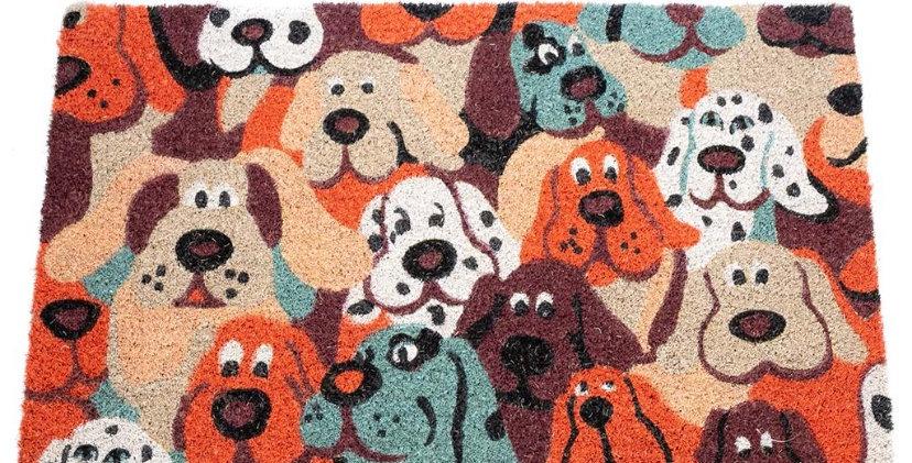 שטיח כניסה כלבלבים