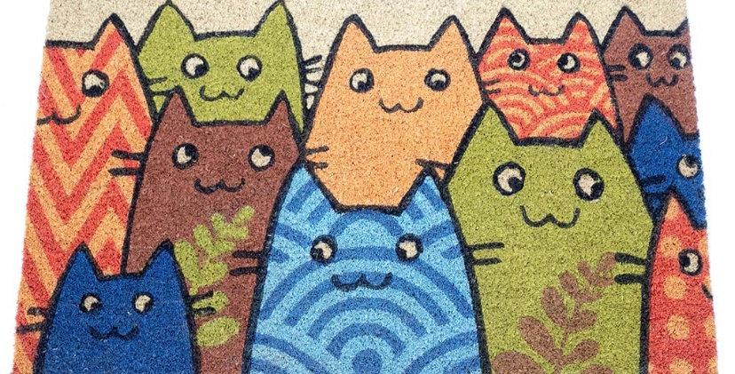 שטיח כניסה חתלתולים