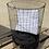 Thumbnail: סל כביסה גדול רשת ברזל
