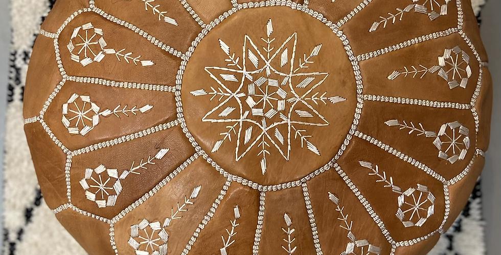 פוף מרוקאי אותנטי קאמל