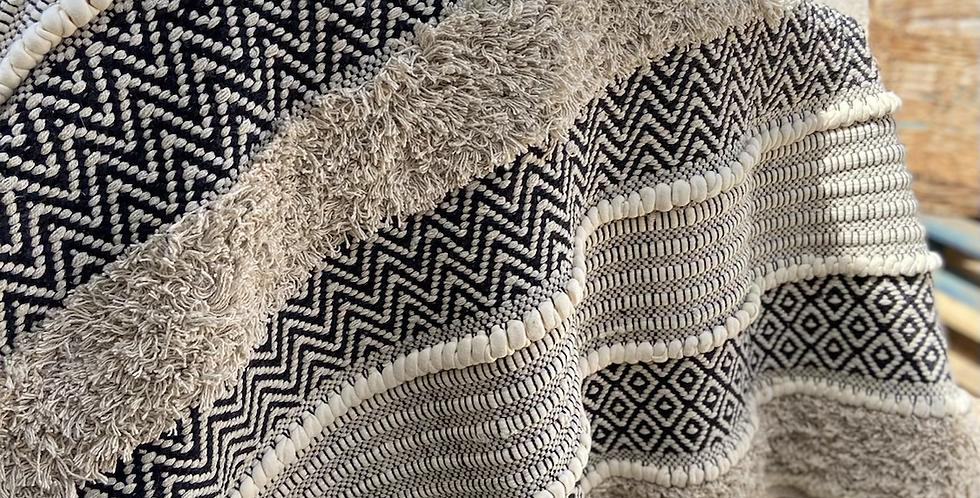 שטיח כותנה גדול ומיוחד