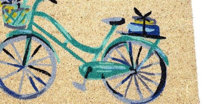 שטיח כניסה אופניים