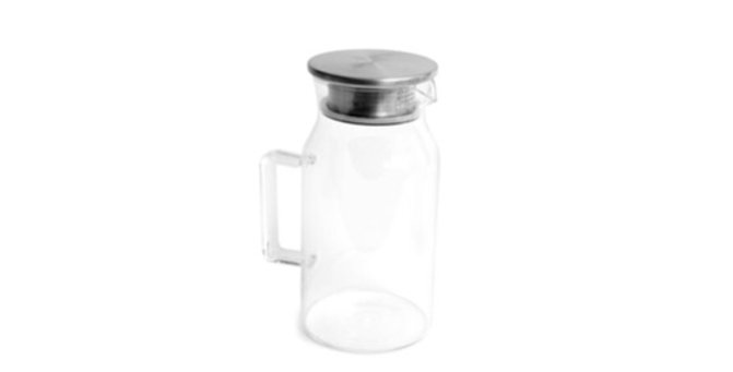 קנקן זכוכית פשוט ונקי