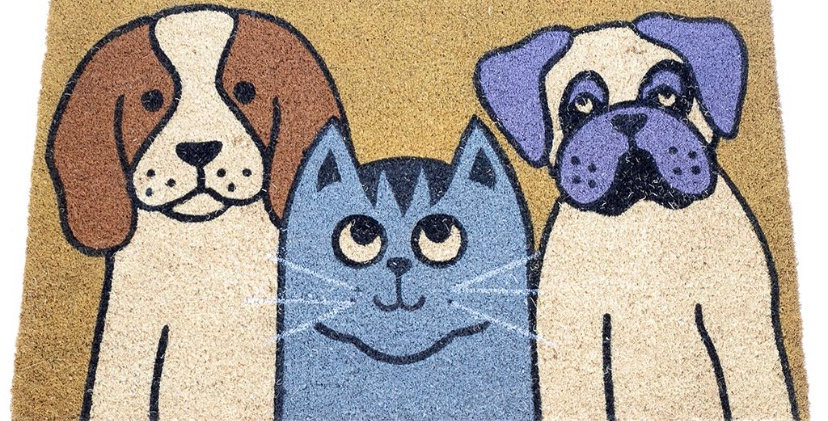 שטיח כניסה חיות מחמד