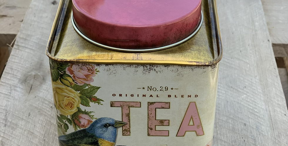 קופסת פח לתה