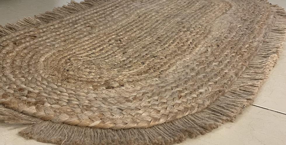 שטיח חבל אובלי