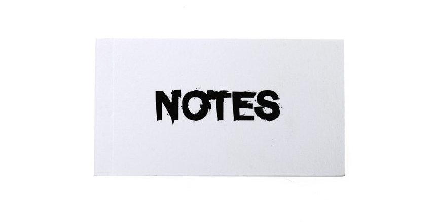פנקסים קטנים NOTES & THINGS