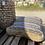 Thumbnail: פוף חבל עם פסים שחורים