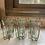 Thumbnail: מנשא ו6 כוסות זכוכית