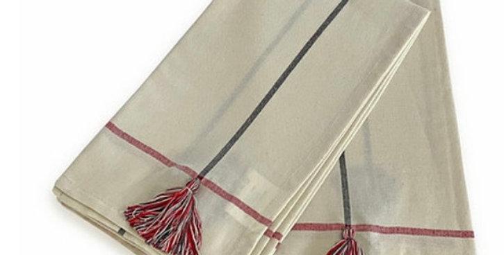 מגבת מטבח פונפון