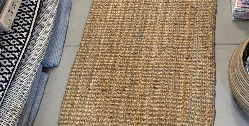 שטיח חבל בעיבוד גס