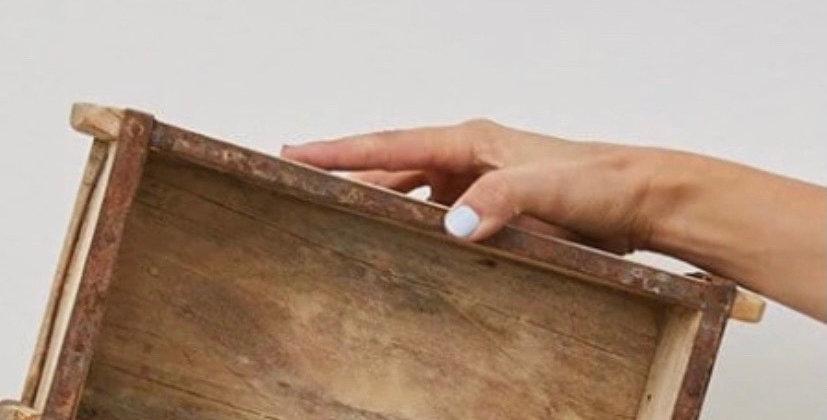 קופסת עץ וינטג׳
