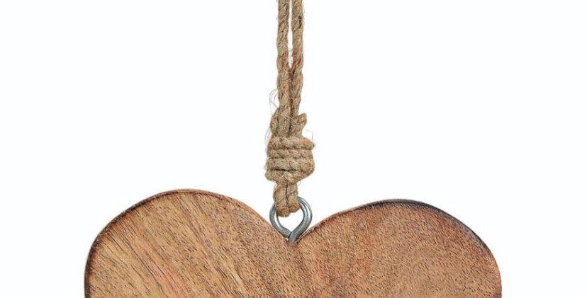 לב עץ שטוח