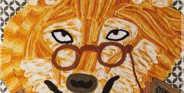 כרית זאב משקפיים