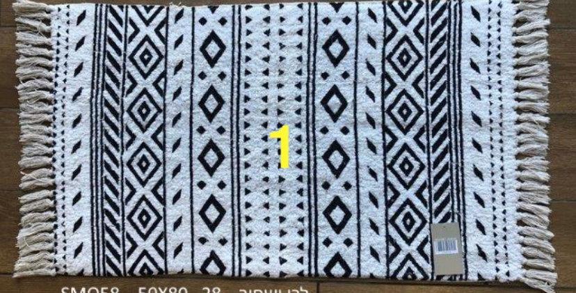 שטיחון לחדר הרחצה