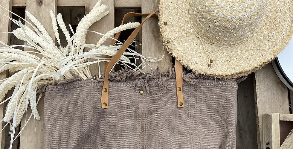כובע קש רקמת איקסים