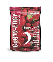 CoQ10-ERGY Energy Drops Strawberry