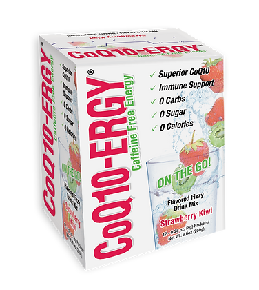 COQ10-ERGY STRAWBERRY KIWI POWDER