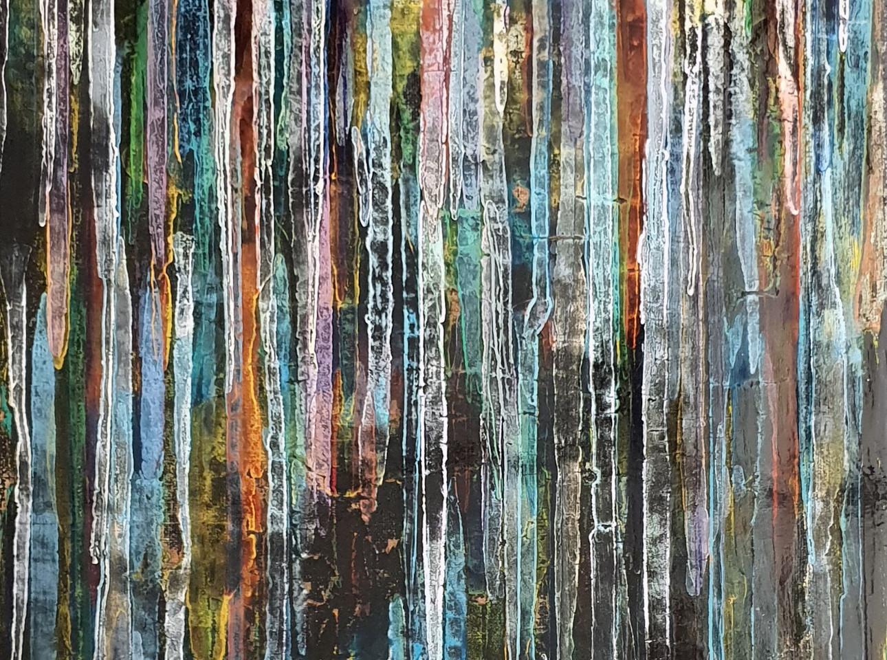 Sans titre 22 Laque toile (60 cm X 95 cm) 2018