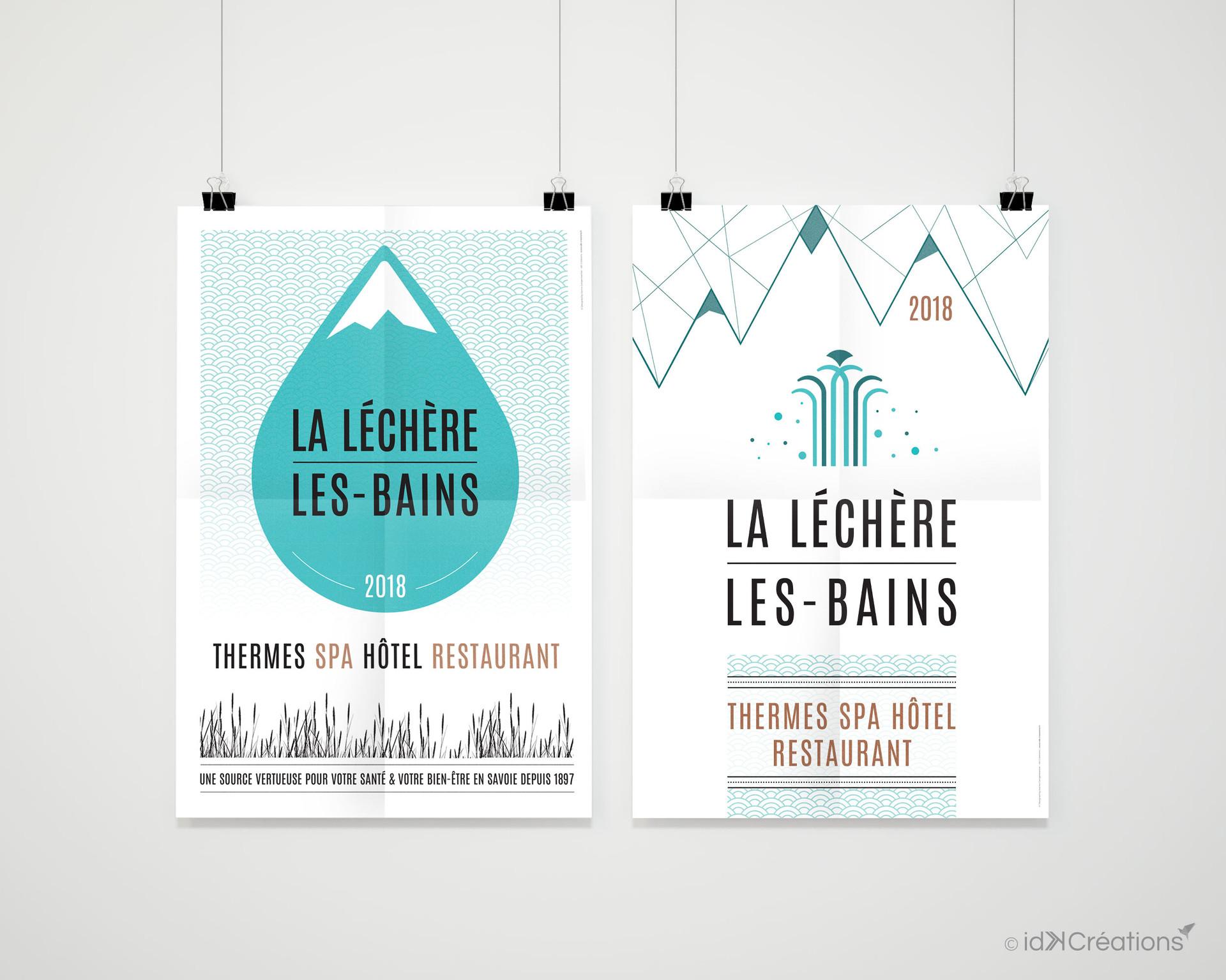 Affichage La Léchère-Les-Bains