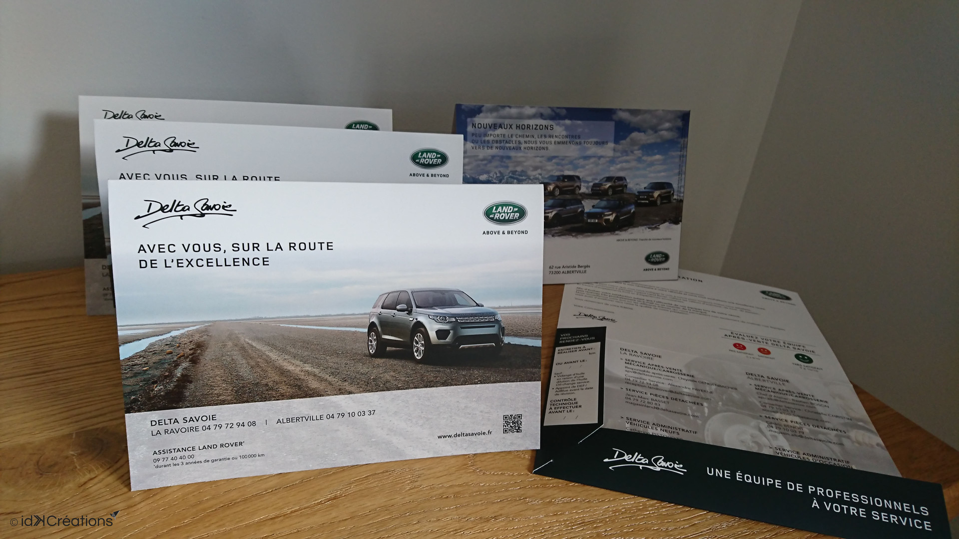 Pochette commerciale Land Rover