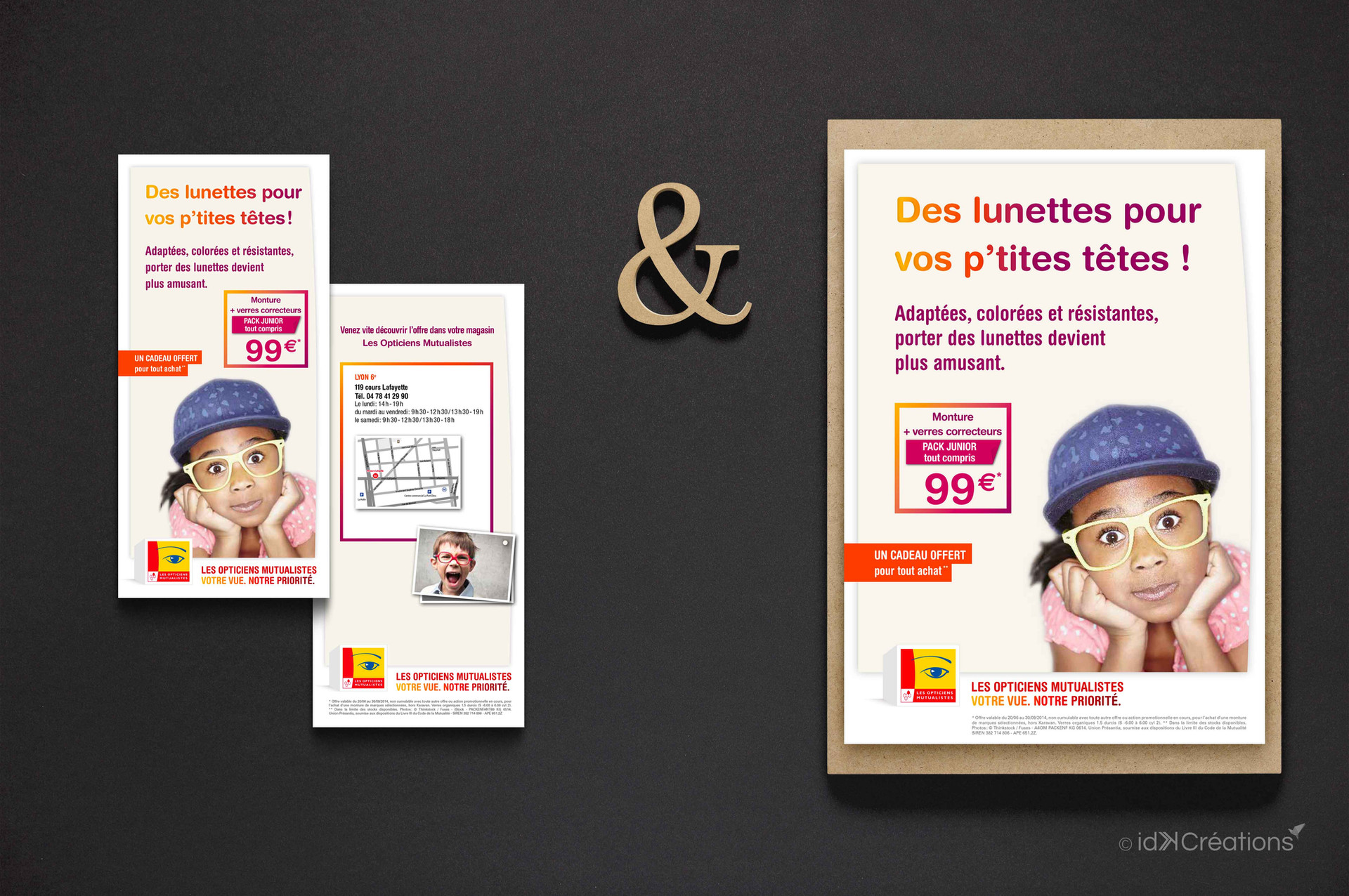 Campagne marketing Les Opticiens Mutualistes