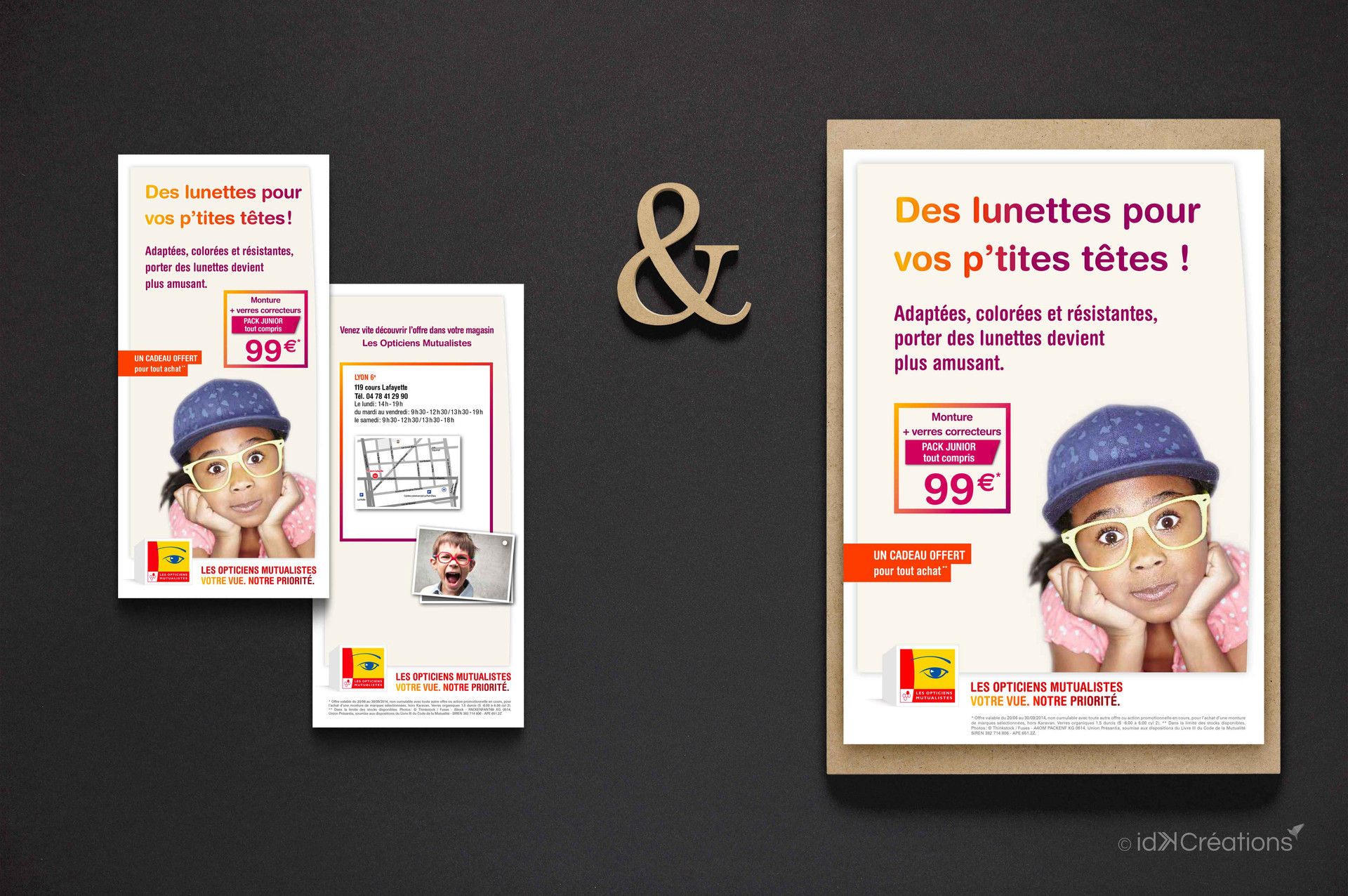 Campagne marketing Les Opticiens Mutualistes