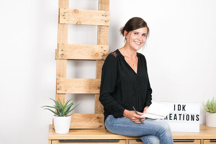 Karine Gengenbacher créatrice idK Créations, graphiste, savoie, communiction, papeterie, design gaphique