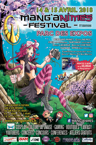 C'est parti pour la 1ère édition du Mang'Anîmes Festival !