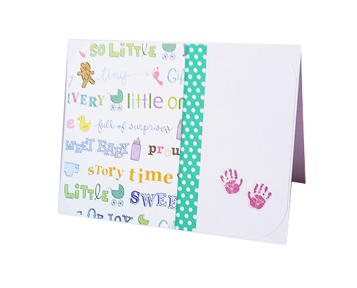 Baby card.