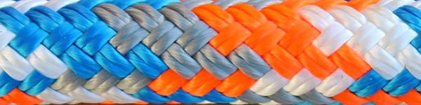 Blue/Gray/Orange/White