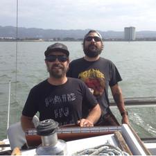 Sam and Gus Sailin'
