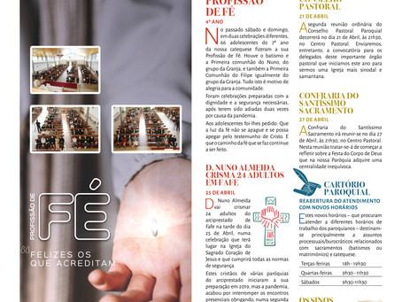 Boletim Igreja Nova 2021-04-18