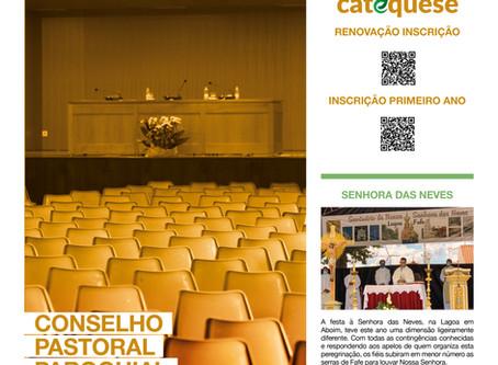 Boletim Igreja Nova 2020-08-30