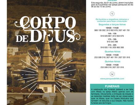 Boletim Igreja Nova 2020-05-31