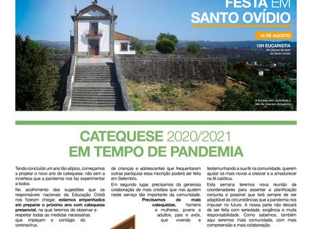 Boletim Igreja Nova 2020-08-09