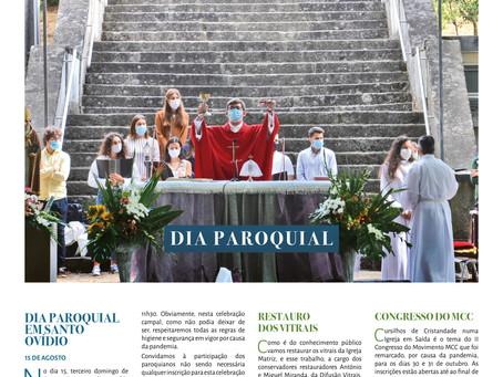 Boletim Igreja Nova 2021-08-01