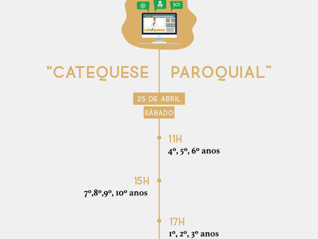 """""""Catequese Paroquial"""""""