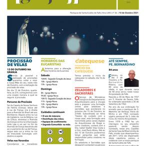 Boletim Igreja Nova 2021-10-10